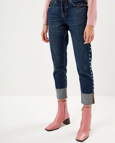 Прямые джинсы синие Only