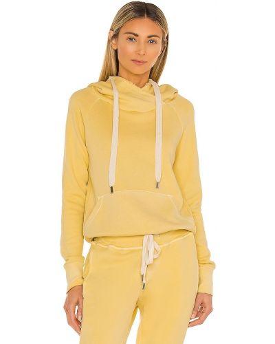 Пуловер с рукавом реглан - желтый Nsf