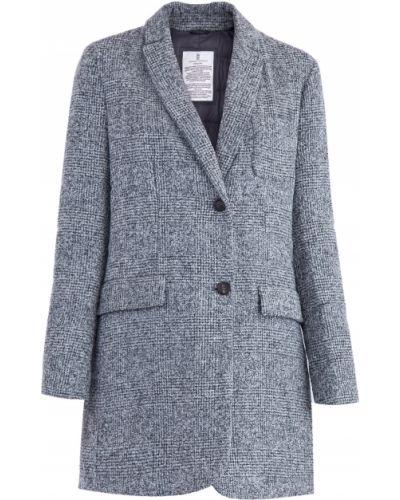 Пальто из альпаки шерстяное Brunello Cucinelli
