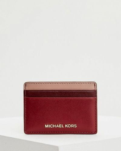 Красная визитница Michael Michael Kors