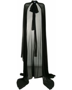 Накидка черная прозрачная Blumarine