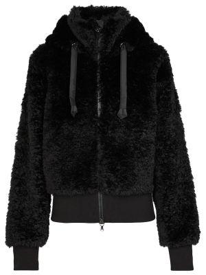 Куртка из искусственного меха - черная Bogner