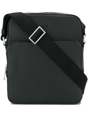 Черная сумка на плечо Boss Hugo Boss