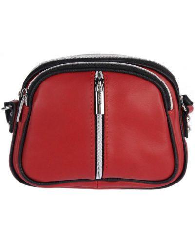 Кожаная сумка - красная Vera Pelle