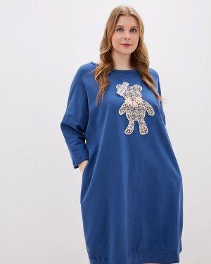 Платье платье-толстовка осеннее Jp