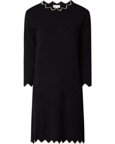 Czarna sukienka z wiskozy Apricot