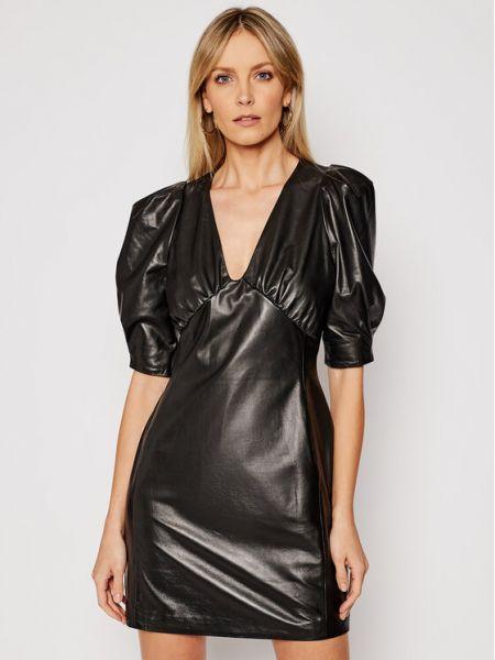 Czarna sukienka koktajlowa Lamarque