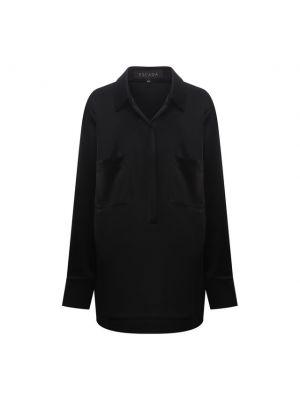 Блузка из полиэстера - черная Escada