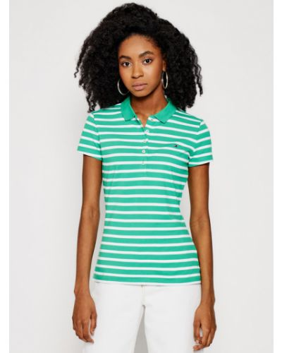 Zielone polo Tommy Hilfiger
