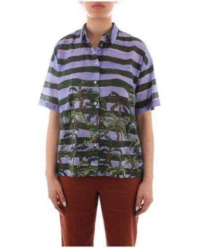 Fioletowa koszula Iblues