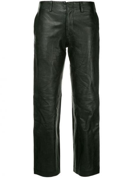 Черные укороченные брюки винтажные с поясом Junya Watanabe Comme Des Garçons Pre-owned