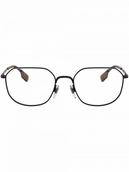 Okulary z printem - białe Burberry Eyewear