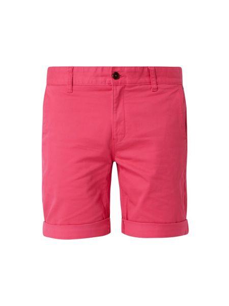 Bawełna bawełna różowy dżinsowe szorty z kieszeniami Tommy Jeans