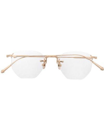 Złote okulary Matsuda