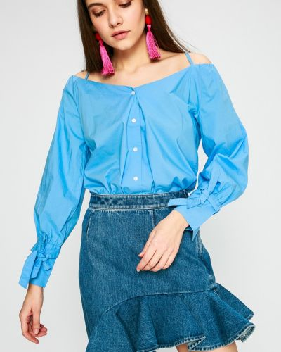 Блузка прямая с V-образным вырезом Pepe Jeans
