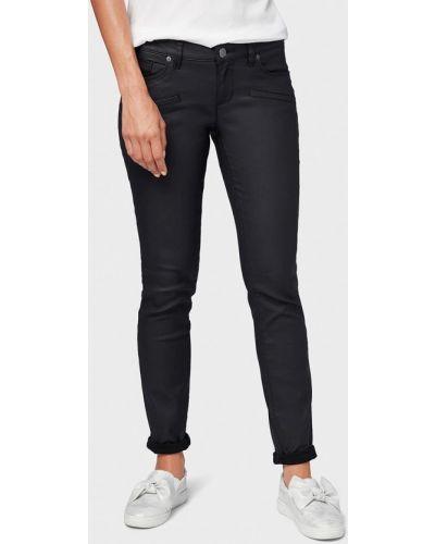 Черные джинсы-скинни Tom Tailor