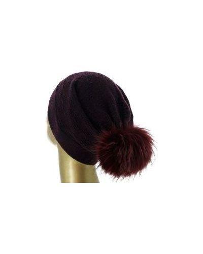 Красная шапка кашемировая Fedeli