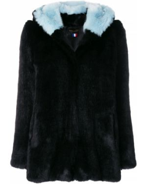Черное акриловое пальто La Seine & Moi