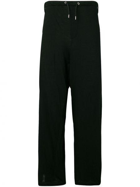 Czarne spodnie wełniane Mcq Alexander Mcqueen