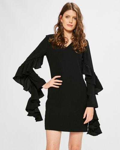 Платье мини однотонное с V-образным вырезом Miss Sixty