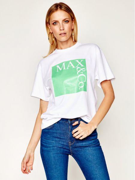 T-shirt - biała Max&co.