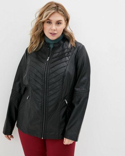 Кожаная куртка - черная Evans