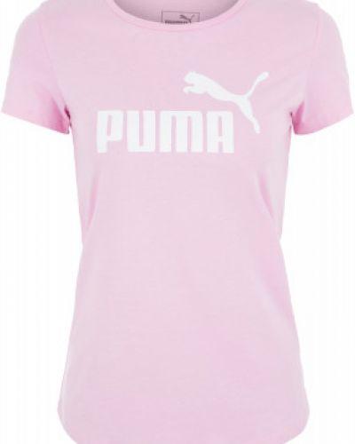 Спортивная футболка с логотипом приталенная Puma