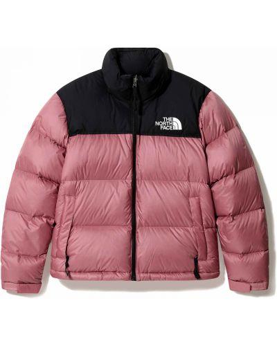 Утепленная розовая куртка винтажная The North Face