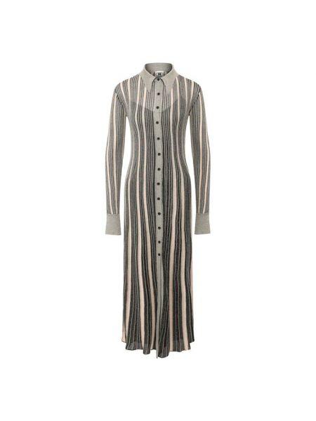 Платье миди серое из вискозы M Missoni