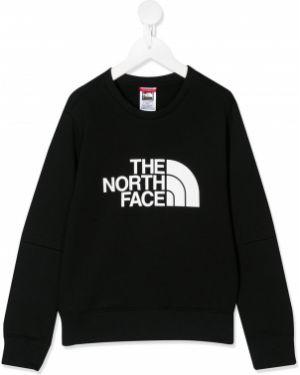 Черный свитшот The North Face Kids