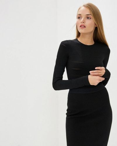 Черное боди блуза Wolford