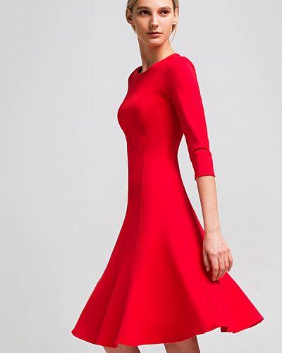 Красное платье весеннее Grass