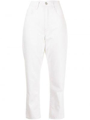 Прямые джинсы классические - белые Nobody Denim