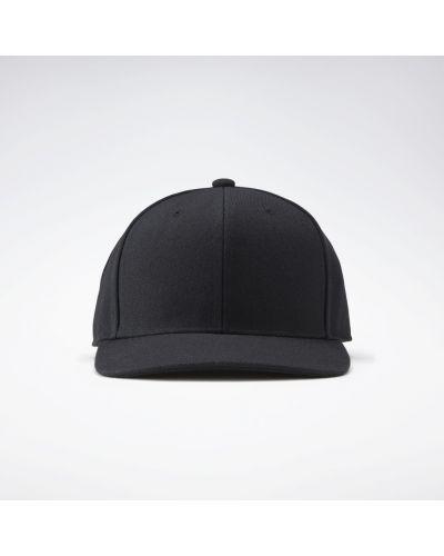 Облегченная черная кепка Reebok