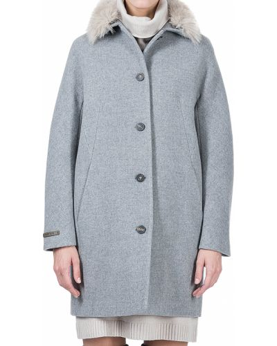Шерстяное пальто с капюшоном Peserico
