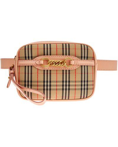 Кожаная сумка поясная маленькая Burberry