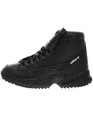 Кожаные кроссовки высокие Adidas Originals