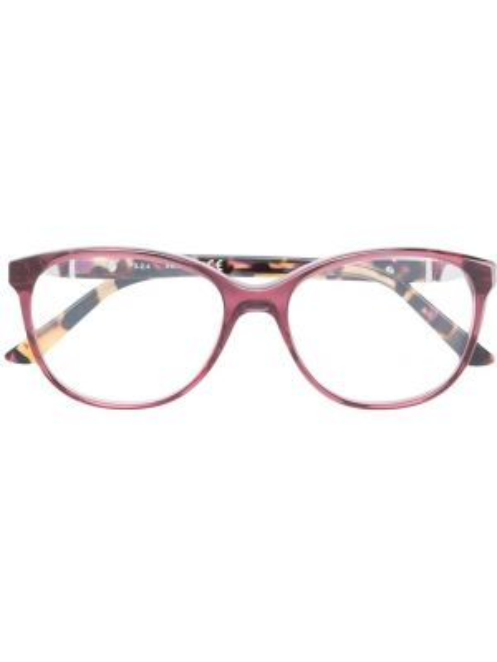 Розовые очки круглые Swarovski Eyewear