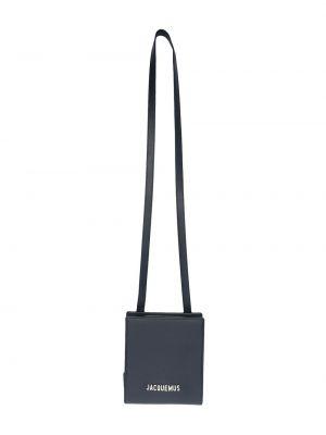 Кожаная сумка на плечо квадратная на молнии Jacquemus