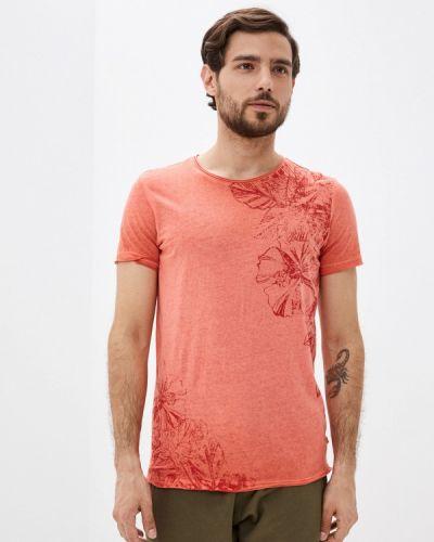 Красная футболка с короткими рукавами Q/s Designed By