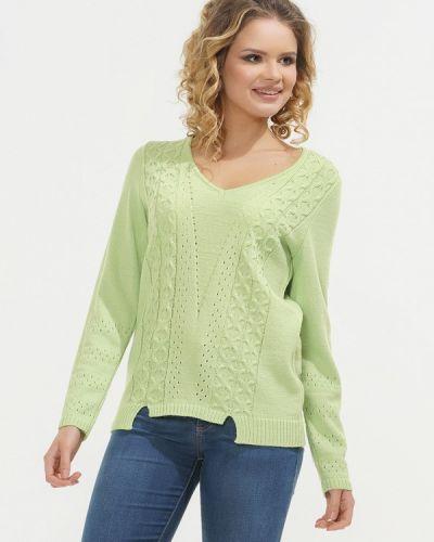 Зеленый пуловер 2018 Vay