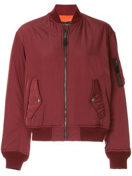 Шерстяная ажурная красная куртка на шнуровке G.v.g.v.