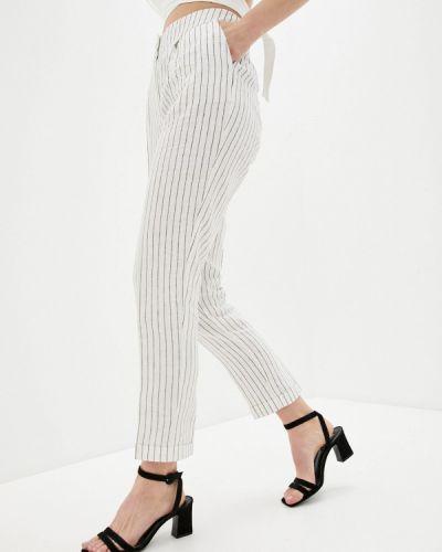 Зауженные бежевые брюки Bulmer