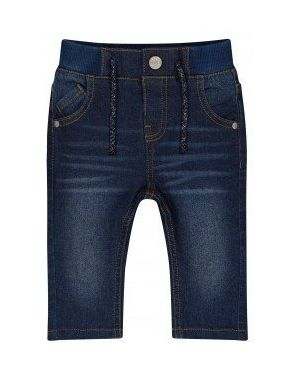 Темно-синие джинсы с поясом Mothercare