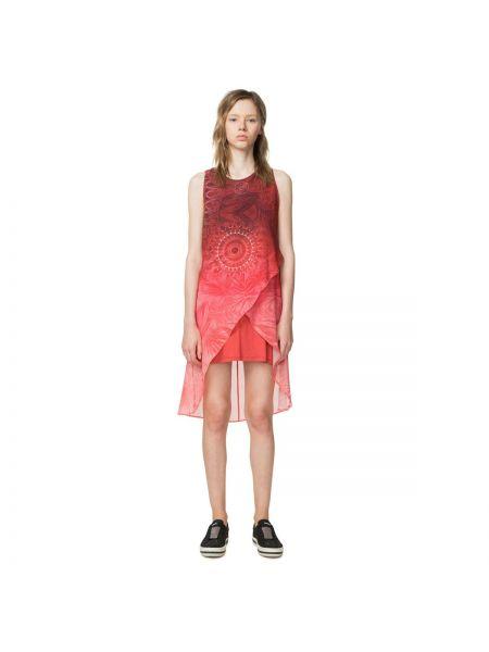 Платье мини прямое без рукавов Desigual