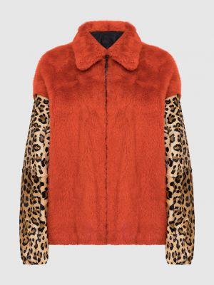Норковая куртка с мехом двусторонняя Simonetta Ravizza