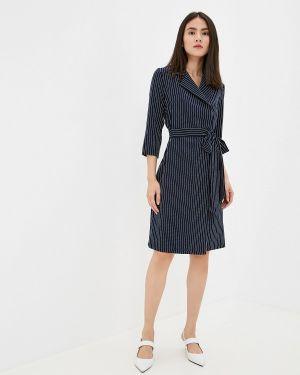 Платье платье-пиджак синее Vera Nova