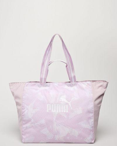 Розовая сумка через плечо Puma