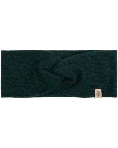 Zielona z kaszmiru czapka Roeckl