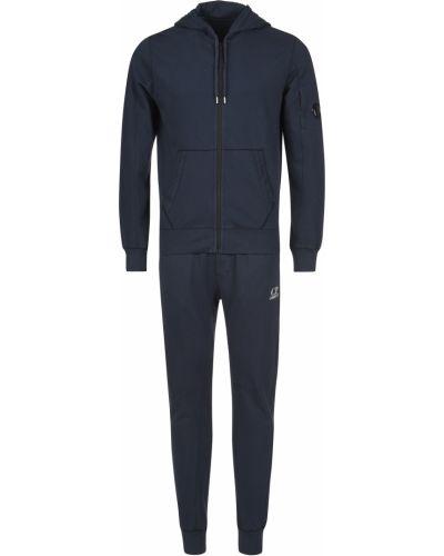Хлопковый спортивный костюм - синий C.p. Company